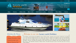 Luxury Yacht Holidays