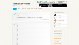 Message Book India